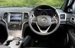 Jeep Grand Cherokee, dashboard