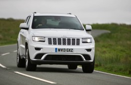Jeep Grand Cherokee, front action