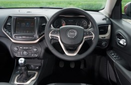 Jeep Cherokee, interior