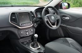 Jeep Cherokee, interior