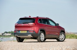 Jeep Cherokee, rear