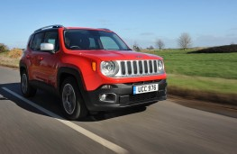 Jeep Renegade, front action