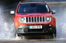 Jeep Renegade, front splash