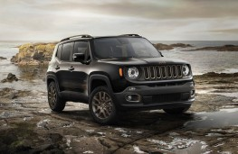 Jeep Renegade 75th Anniversary, static front