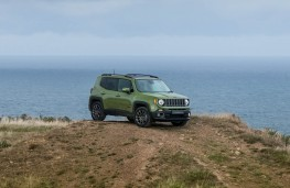 Jeep Renegade 75th Anniversary, static hilltop
