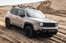 Jeep Renegade Desert Hawk front action
