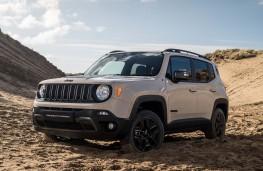 Jeep Renegade Desert Hawk front