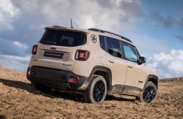 Jeep Renegade Desert Hawk rear