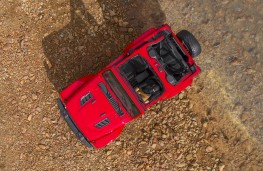 Jeep Wrangler 2018 overhead