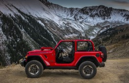 Jeep Wrangler 2018 profile