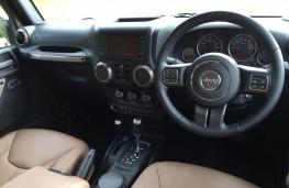 Jeep Wrangler Anniversary Edition, interior