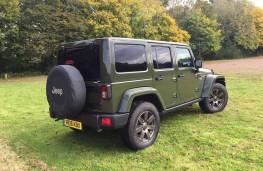 Jeep Wrangler Anniversary Edition, rear