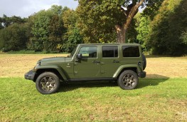 Jeep Wrangler Anniversary Edition, side