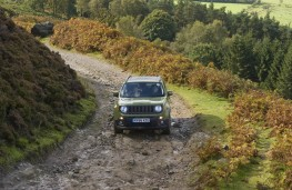 Jeep Renegade, 75th Anniversary, off road, trail, front