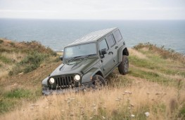 Jeep off-road course at Bay Ness Farm