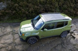 Jeep Renegade, 75th Anniversary, off road, overhead