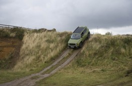 Jeep Renegade, 75th Anniversary, off road, slope