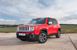 Jeep Renegade, front quarter