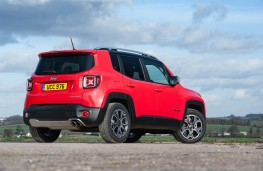 Jeep Renegade, rear quarter
