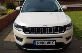Jeep Compass 2.0 Limited, face