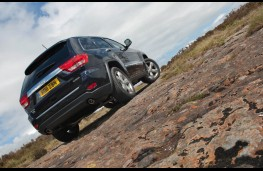 Jeep Grand Cherokee, off road