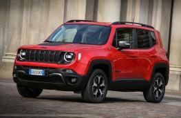 Jeep Renegade 4xe, 2020, front