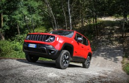Jeep Renegade 4xe, 2020, front, off road