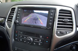 Jeep Grand Cherokee, reversing camera display