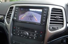Jeep Grand Cherokee, rear view camera display