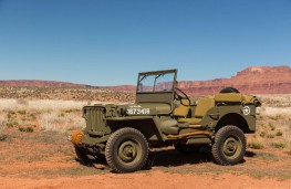 Willys Jeep, Moab, 75th anniversary