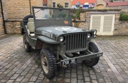 Willys Jeep, 2016, front