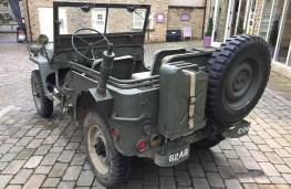 Willys Jeep, 2016, rear