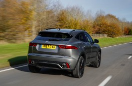 Jaguar E-Pace, rear