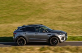 Jaguar E-Pace, side