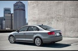 Volkswagen Jetta, rear view