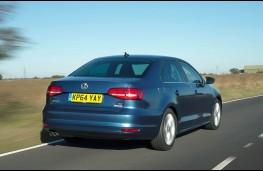 Volkswagen Jetta, rear