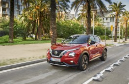 Nissan Juke, 2019, front, action