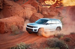 Jeep Grand Cherokee, 2021, US specification, front