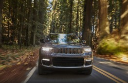 Jeep Grand Cherokee, 2021, US specification, nose