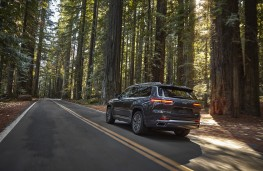 Jeep Grand Cherokee, 2021, US specification, rear
