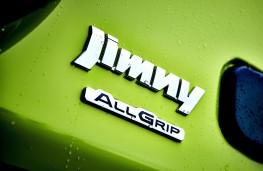 Suzuki Jimny, 2019, badge