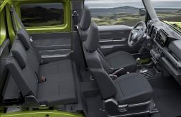 Suzuki Jimny, 2019, cabin