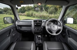 Suzuki Jimny, 2017, interior