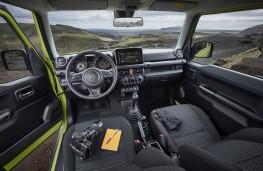 Suzuki Jimny, 2019, interior