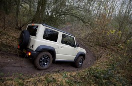 Suzuki Jimny, 2019, off road, side, action