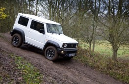 Suzuki Jimny, 2019, off road, side
