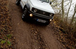 Suzuki Jimny, 2019, off road, slope
