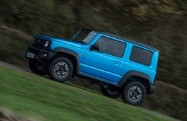 Suzuki Jimny, 2019, side, action