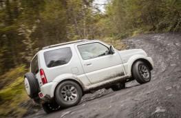 Suzuki Jimny, 2017, side, mud