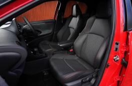 Toyota Yaris, interior